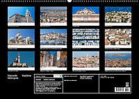 Marseille Maritime Metropole (Wandkalender 2019 DIN A2 quer) - Produktdetailbild 13