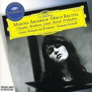 Martha Argerich - Debut Recital, Martha Argerich
