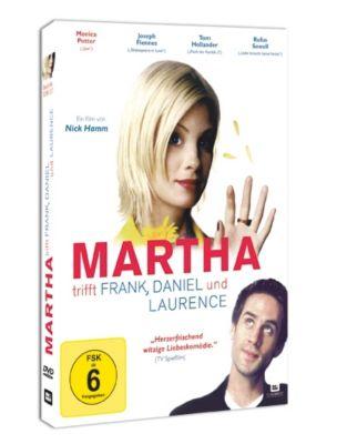 Martha trifft Frank, Daniel und Laurence, 1 DVD, Peter Morgan