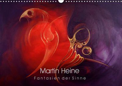 Martin Heine - Fantasien der Sinne (Wandkalender 2019 DIN A3 quer), Martin Heine