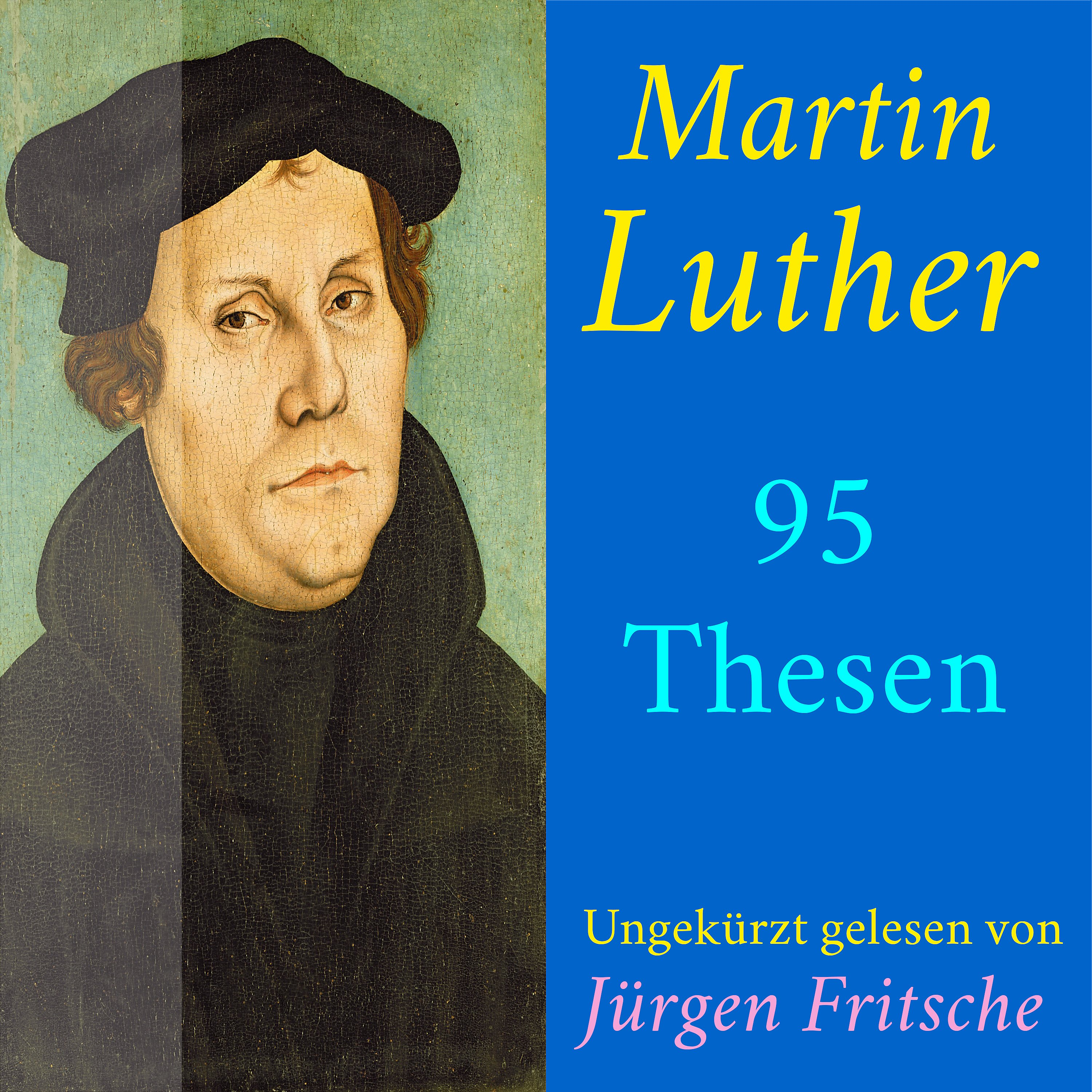 Martin Luther 95 Thesen Des Theologen Dr Martin Luther