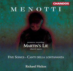 Martins Lüge/5 Lieder F.tenor, Tees Valley Boys'choir, Hickox