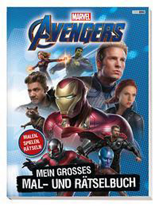 Marvel Avengers Mein Großes Mal Und Rätselbuch Buch Weltbildde
