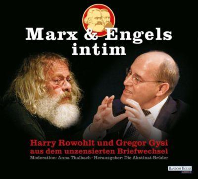 Marx & Engels intim, 1 Audio-CD, Karl Marx, Friedrich Engels