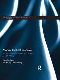 Marxist Political Economy, Geoff Pilling