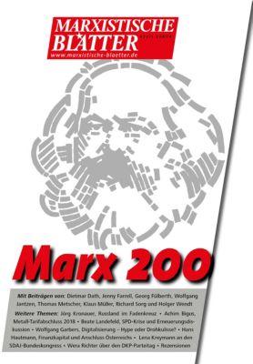 Marxistische Blätter: Marx 200