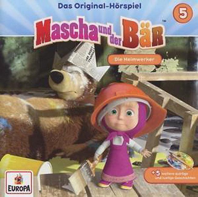 mascha und der bär  die heimwerker 1 audiocd hörbuch kaufen