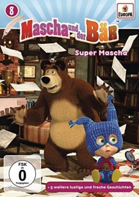 Mascha und der Bär - Super Mascha (008), Mascha und der Bär