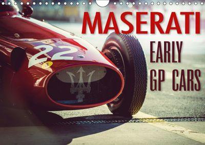 Maserati - Early GP Cars (Wall Calendar 2019 DIN A4 Landscape), Johann Hinrichs
