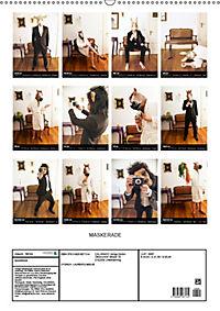 MASKERADE (Wandkalender 2019 DIN A2 hoch) - Produktdetailbild 13