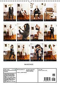 MASKERADE (Wandkalender 2019 DIN A3 hoch) - Produktdetailbild 10