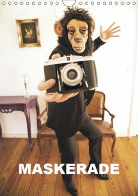 MASKERADE (Wandkalender 2019 DIN A4 hoch), Laurentiu Mielke