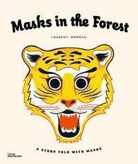 Masks in the Forest, w. 9 Masks, Laurent Moreau