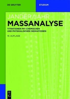Maßanalyse, Gerhard Jander, Karl-Friedrich Jahr, Gerhard Schulze