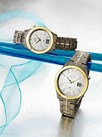 Master Time Funkuhr, Damen, bicolor - Produktdetailbild 1