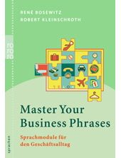 Master Your Business Phrases, René Bosewitz, Robert Kleinschroth