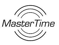 MasterTime Funk-Armbanduhr Bahnhof Herren, Leder - Produktdetailbild 2