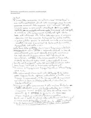 Matematica, quantificatori, connettivi, modelli multipli, Rosanna Festa