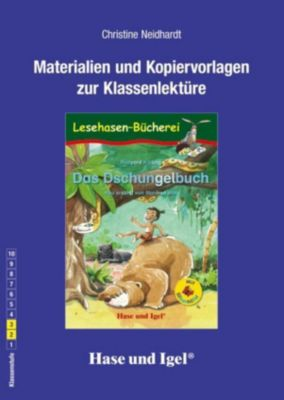 Materialien und Kopiervorlagen zur Klassenlektüre: Das Dschungelbuch / Silbenhilfe, Christine Neidhardt