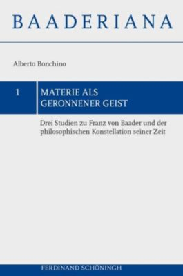 Materie als geronnener Geist, Alberto Bonchino