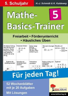 Mathe-Basics-Trainer 5. Schuljahr, Kurt Kaldewey, Hans J Schmidt