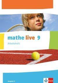 mathe live, Ausgabe S: 9. Schuljahr, Arbeitsheft mit Lösungsheft