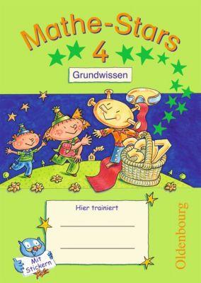 Mathe-Stars: 4. Schuljahr: Grundwissen