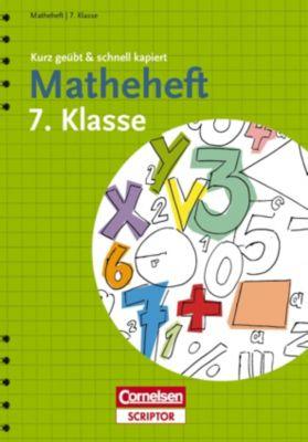 Matheheft 7. Klasse