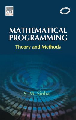 Mathematical Programming, S. M. Sinha