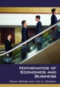 elements of mathematics for economics and finance pdf