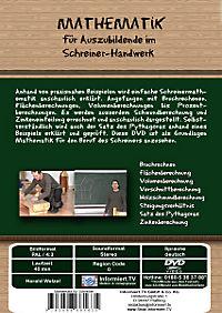 Mathematik für Auszubildende im Schreiner-Handwerk - Produktdetailbild 1