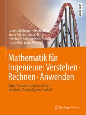 Mathematik für Ingenieure: Verstehen - Rechnen - Anwenden, Laurenz Göllmann, Reinhold Hübl, Susan Pulham, Stefan Ritter, Henning Schon, Karlheinz Schüffler, Ursula Voß, Georg Vossen