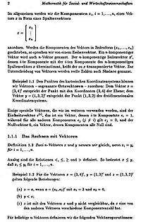 Mathematik für Sozial- und Wirtschaftswissenschaften - Produktdetailbild 2