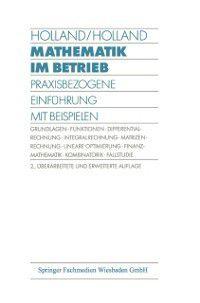 Mathematik im Betrieb, Heinrich Holland, Doris Holland