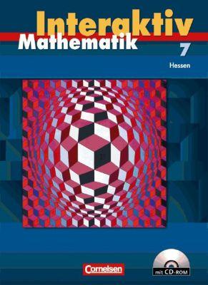 Mathematik interaktiv, Ausgabe Hessen: 7. Schuljahr, Schülerbuch m. CD-ROM