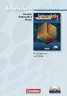 Mathematik interaktiv, Ausgabe Hessen: 8. Schuljahr, Arbeitsheft m. CD-ROM