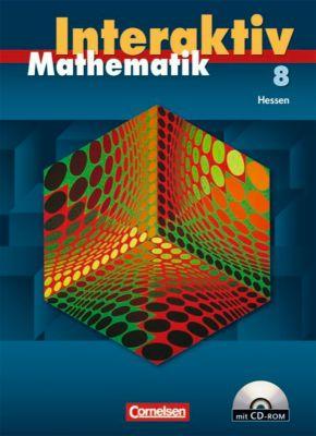 Mathematik interaktiv, Ausgabe Hessen: 8. Schuljahr, Schülerbuch m. CD-ROM