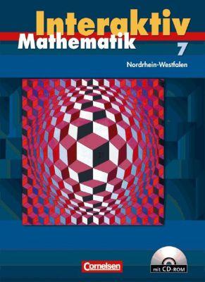 Mathematik interaktiv, Ausgabe Nordrhein-Westfalen: 7. Schuljahr, Schülerbuch m. CD-ROM