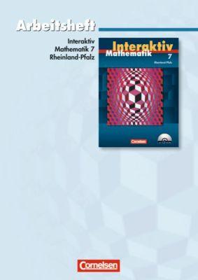 Mathematik interaktiv, Ausgabe Rheinland-Pfalz: 7. Schuljahr, Arbeitsheft