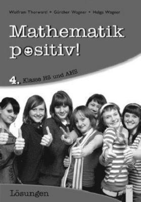 Mathematik positiv! 4. Klasse HS/AHS, Lösungen -  pdf epub