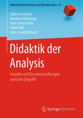Mathematik Primarstufe und Sekundarstufe I + II: Didaktik der Analysis, Volker Ulm, Hans-Georg Weigand, Gilbert Greefrath, Hans-Stefan Siller, Reinhard Oldenburg