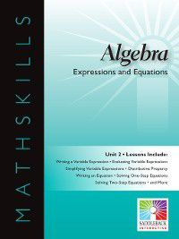 Mathskills: Algebra 1: Expressions and Equations, Saddleback Educational Publishing