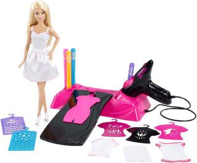 Mattel-Airbrush Designer & Barbie Puppe