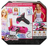 Mattel-Airbrush Designer & Barbie Puppe - Produktdetailbild 1