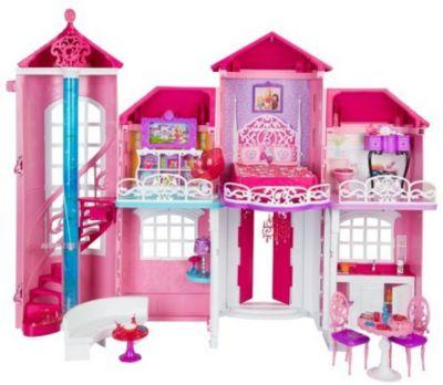 Mattel Barbie BJP34 - Traumhaus mit viel Zubehör
