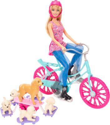 Mattel Barbie CLD94-Fahrradausflug mit Hunden