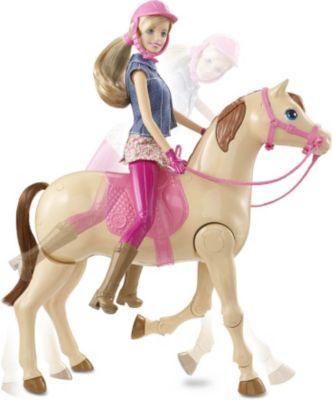 Mattel Barbie CMP27 - Reitpferd und Puppe
