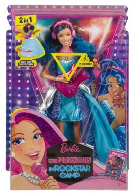 Mattel Barbie CMT04-Rockstar Erika mit Gitarre