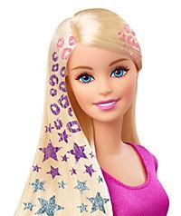 """Mattel Barbie  """"Glitzer-Haar Barbie"""" - Produktdetailbild 1"""