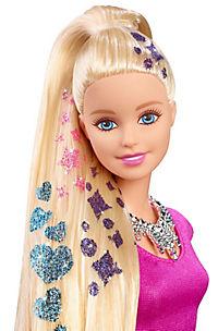 """Mattel Barbie  """"Glitzer-Haar Barbie"""" - Produktdetailbild 3"""